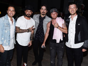 Los Backstreet Boys en 2016