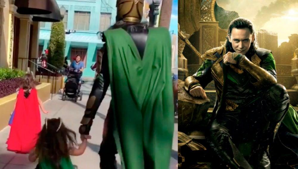 Loki y el apacible paseo por Disneyland