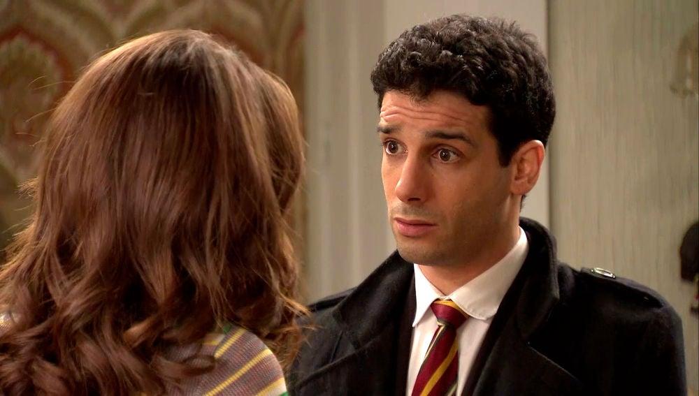 Ignacio evita quedarse a solas con María por el miedo a su 'primera vez'