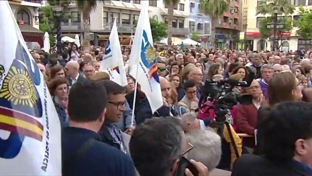 """Cientos de personas piden """"más compromiso"""" en la lucha contra el narcotráfico en el Campo de Gibraltar"""