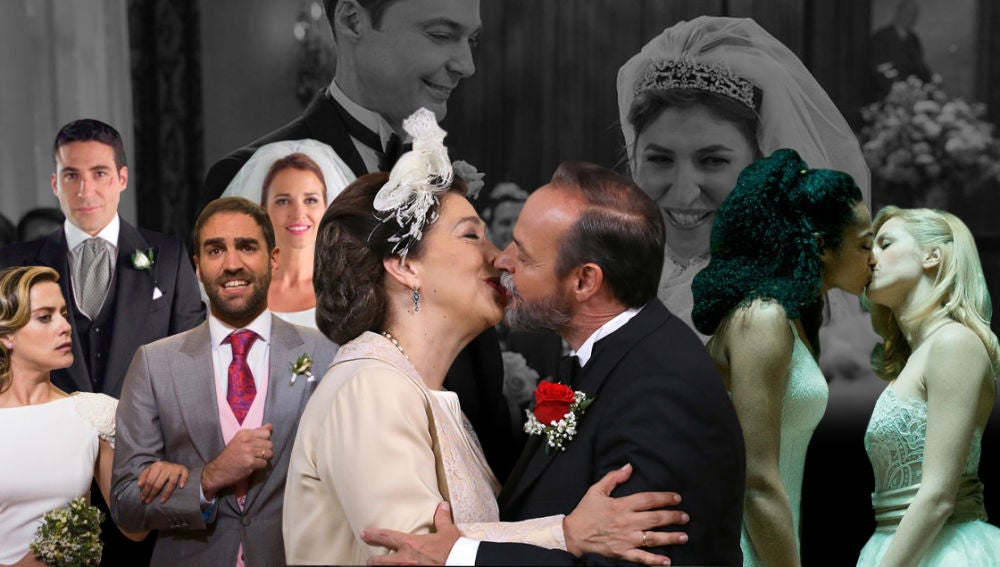 La bodas de ensueño de las series de Antena 3