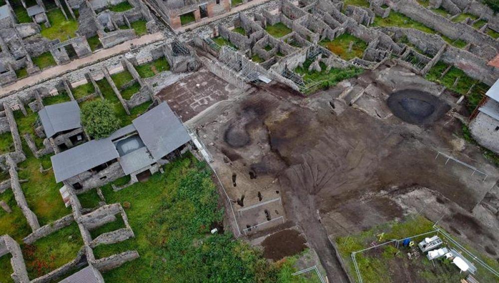 últimos descubrimientos en Pompeya