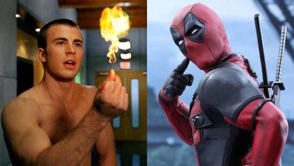Chris Evans podría haber salido en 'Deadpool 2'