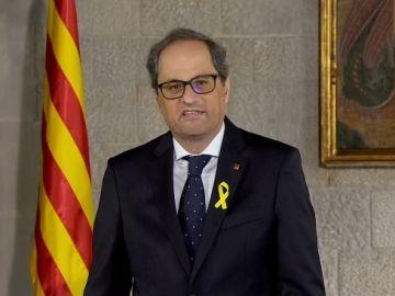 Quim Torra toma posesión de su cargo como presidente de la Generalitat de Cataluña