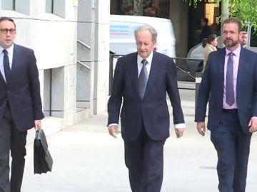 Villar Mir y López Madrid comparecen hoy ante el juez del caso Lezo por la adjudicación del tren de Navalcarnero