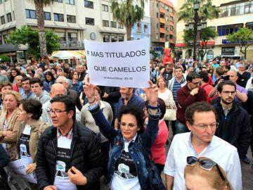 Manifestación en Algeciras contra el narcotráfico