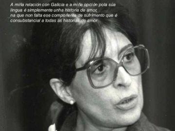 María Victoria Moreno homenajeada en el Día de las Letras Gallegas