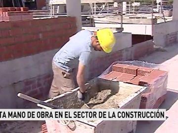 Falta mano de obra en el sector de la construcción