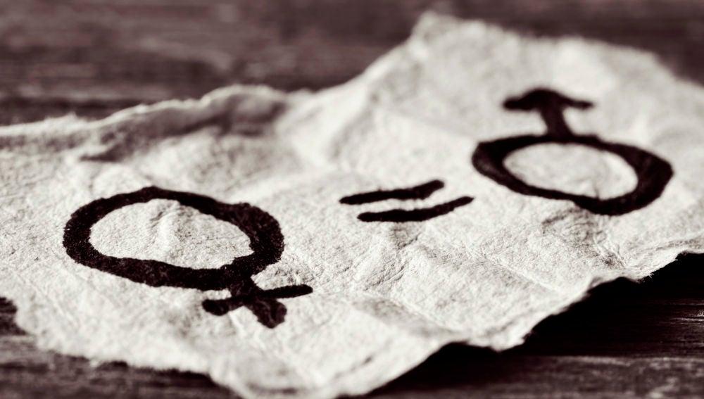 Símbolos masculino y femenino