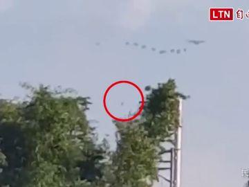 VÍDEO: Un paracaidista sobrevive tras una caída libre de casi 400 metros