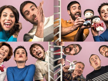 Los divertidos carteles de la cuarta temporada de 'Allí Abajo'