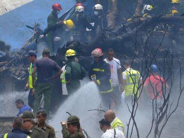 Accidente en el aeropuerto de La Habana