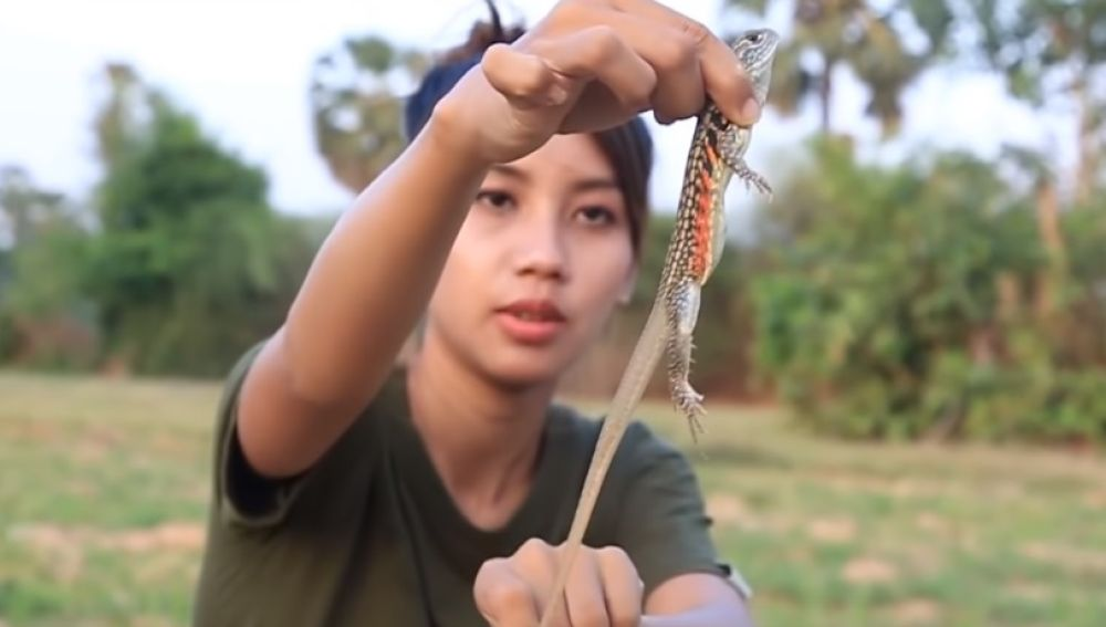 La youtuber que comía animales