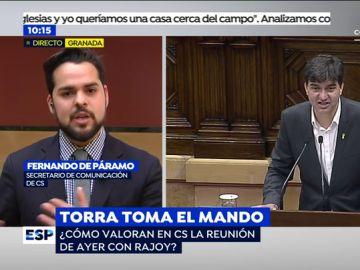 Fernando de Páramo en Espejo Público