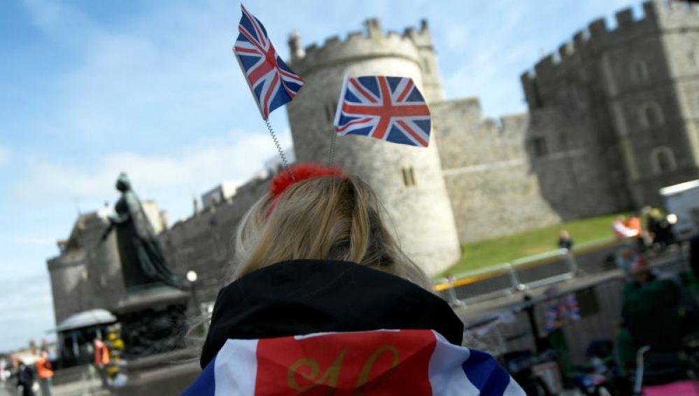 Windsor se prepara para la boda de Harry y Meghan