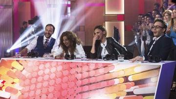 Lolita, Chenoa y 'Llàcer' valoran la actuación de Silvia Abril y su particular 'Sarandonga'