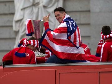 Fernando Torres, con la Europa League