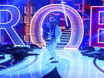 'Forever King of Pop' recrean una fantástica versión de 'Smooth Criminal' de Michael Jackson en 'La noche de Rober'