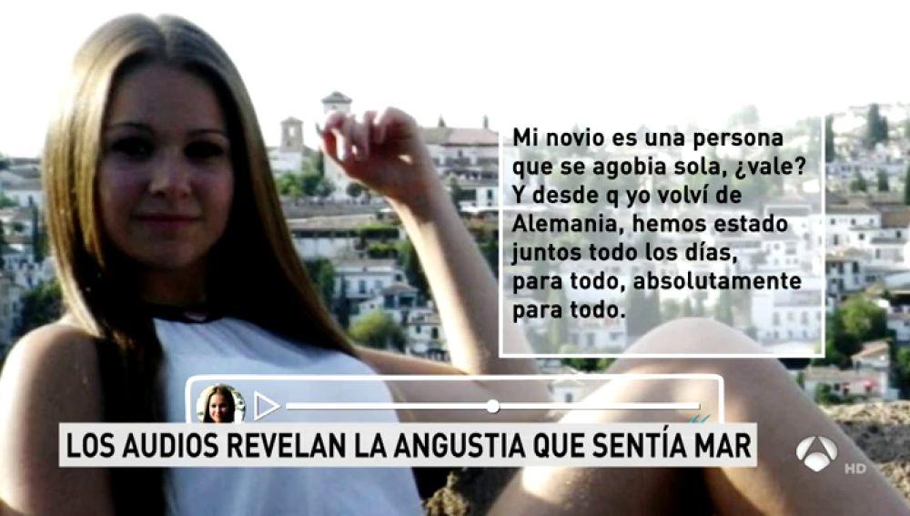 Nuevos audios de María del Mar, la joven asesinada en el campo de tiro de Las Gabias, revelan la angustia que sufrió