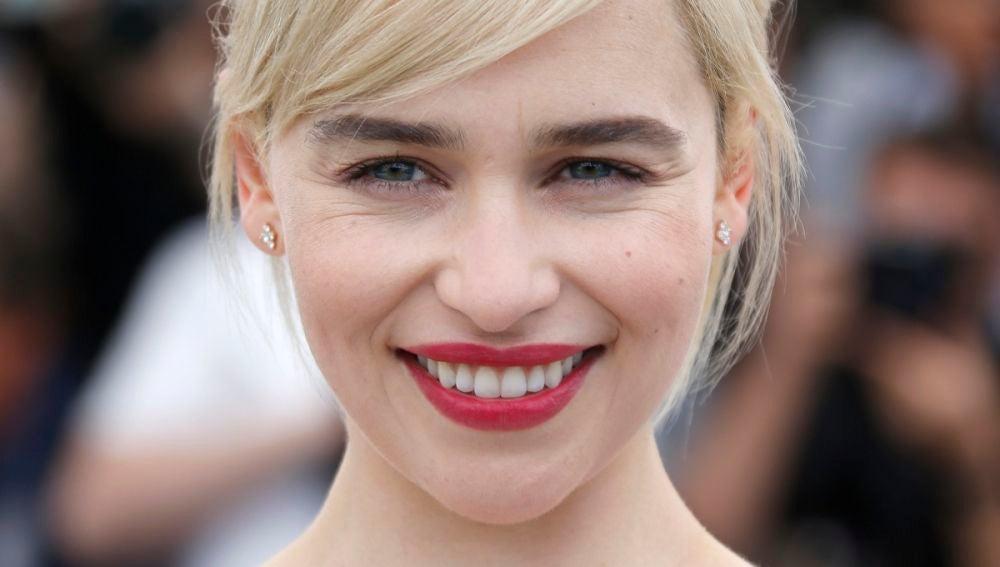 Emilia Clarke en la premiere de 'Han Solo: Una historia de Star Wars'