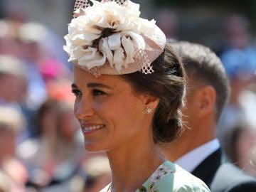 Pippa Middleton en la boda de Meghan y Harry