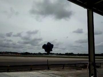 Lugar donde ocurrió el accidente de avión