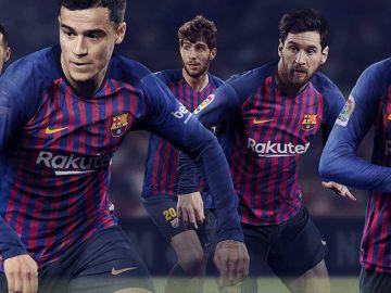 La nueva camiseta del Barcelona