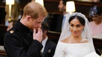 El príncipe Harry y Meghan Markle en su boda