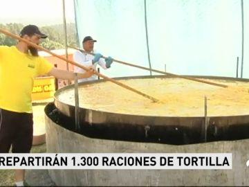 La tortilla más grande del mundo