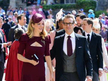 El actor de 'Suits' Gabriel Macht y su mujer Jacinda Barrett