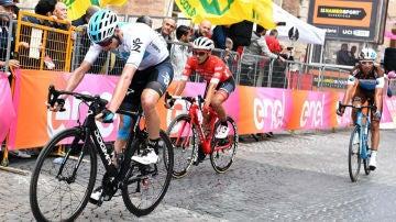 Chris Froome, en el Giro