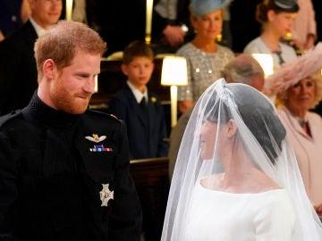 La mirada del príncpe Harry a Meghan Markle