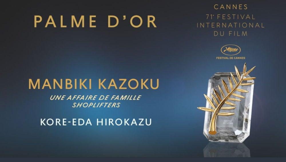 Palma de Oro Manbiki Kazoku