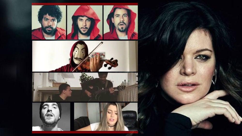 Las versiones de la canción de la cabecera de 'La casa de papel' que han cautivado a su intérprete