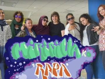 Madres de la escuela Miribilla en Bilbao