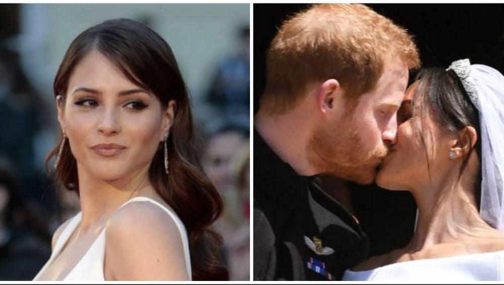 La reglexión de Andrea Duro sobre el amor en la boda de Meghan Markle y el príncipe Harry