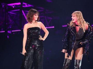 Selena Gomez aparece en un concierto de Taylor Swift