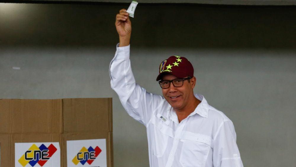 Henri Falcón, rival de Maduro en las elecciones venezolanas