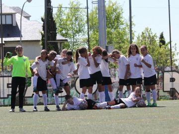 Alevínes del Madrid CFF
