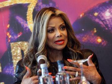 La actriz y cantante La Toya Jackson