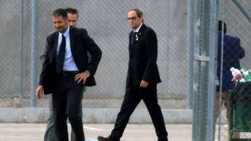 LaSexta Noticias 14:00 (21-05-18) Quim Torra acude a las prisiones de Estremera, Alcalá Meco y Soto del Real para visitar a los políticos presos