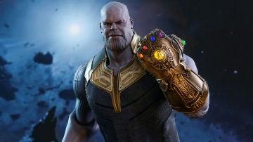 Thanos en 'Vengadores: Infinity War'