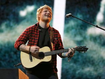 Ed Sheeran en los Billboard Music Awards 2018