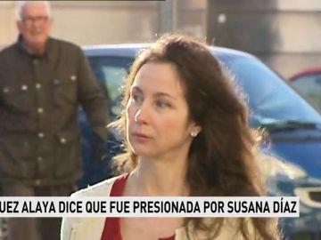 La juez Alaya dice que fue presionada por Susana Díaz