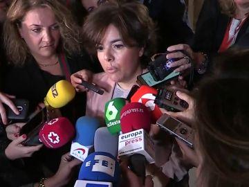 """Santamaría avisa a Torra de que su frentismo está """"abocado al fracaso"""" porque la democracia es """"muy fuerte"""""""