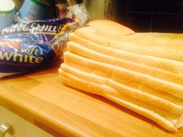 Así no se corta el pan
