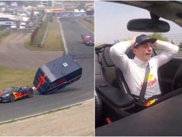 La carrera de caravanas entre Verstappen y Ricciardo