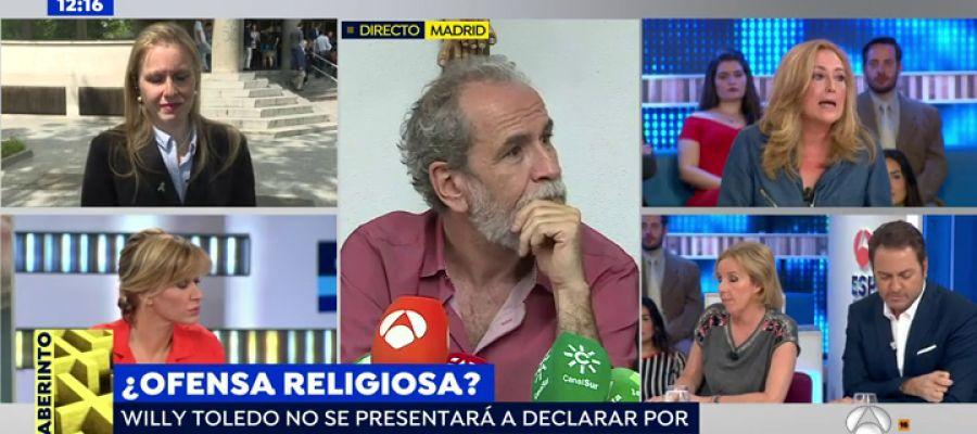 Antena 3 tv elisa beni estalla en el plat de espejo for Ver espejo publico hoy