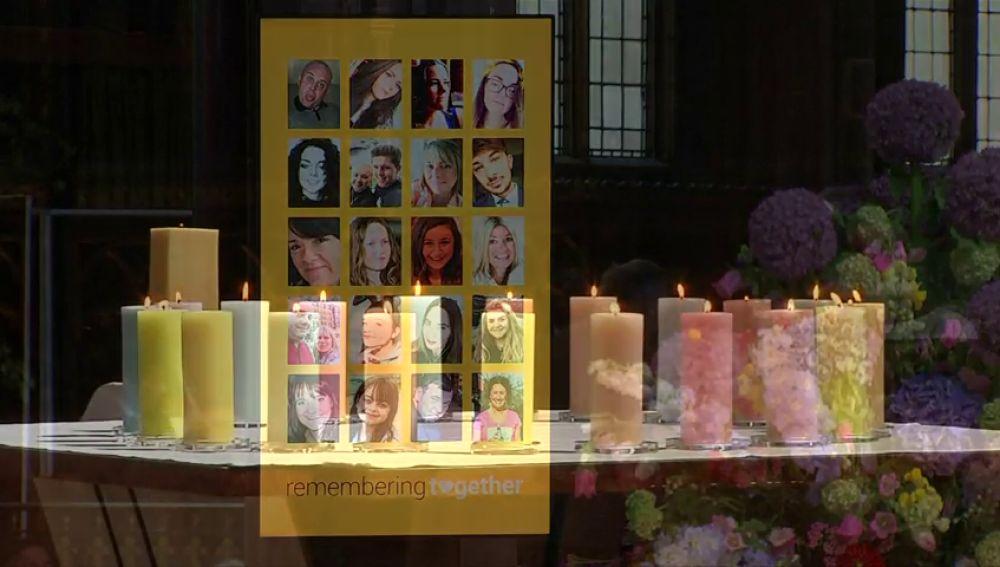 Comienzan los actos conmemorativos del atentado en el Manchester Arena con las víctimas en el recuerdo
