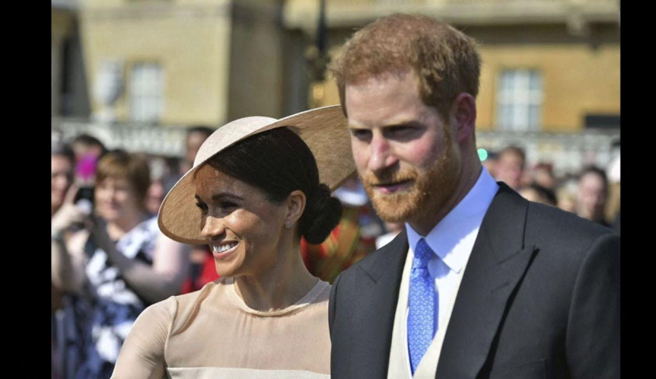 Harry y Meghan acuden a su primer acto oficial como marido y mujer